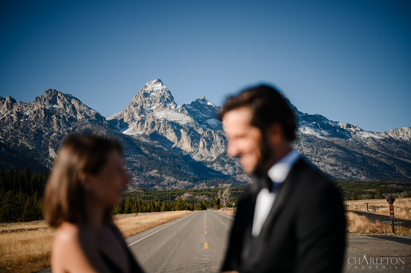 off grid mountain photo shoot with couple in wyoming.