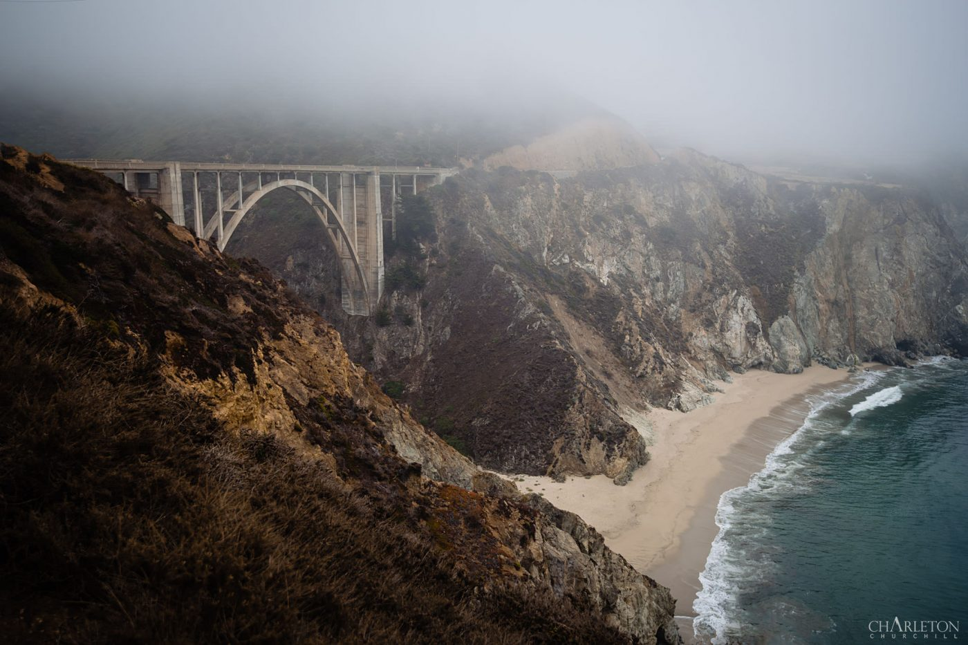 Bixby Bridge in big sur California