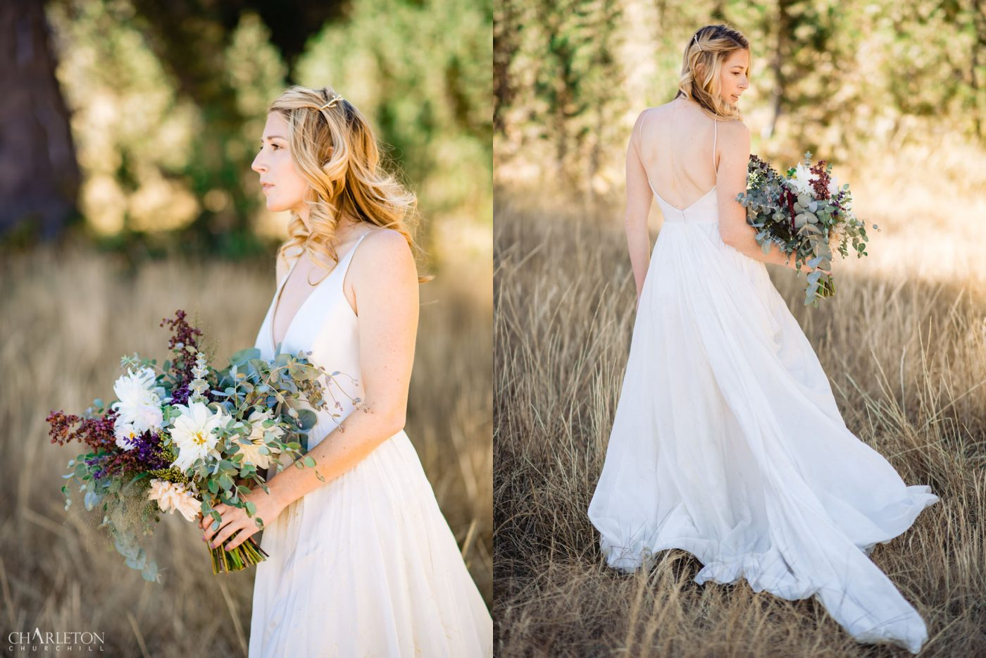 kirkwood california bride in the mountains
