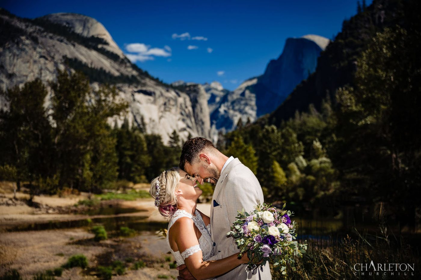 elopement on sentinel hiking trail
