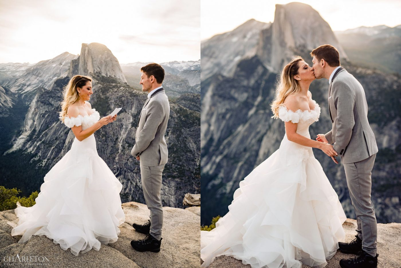 yosemite wedding ceremony permit at glacier point