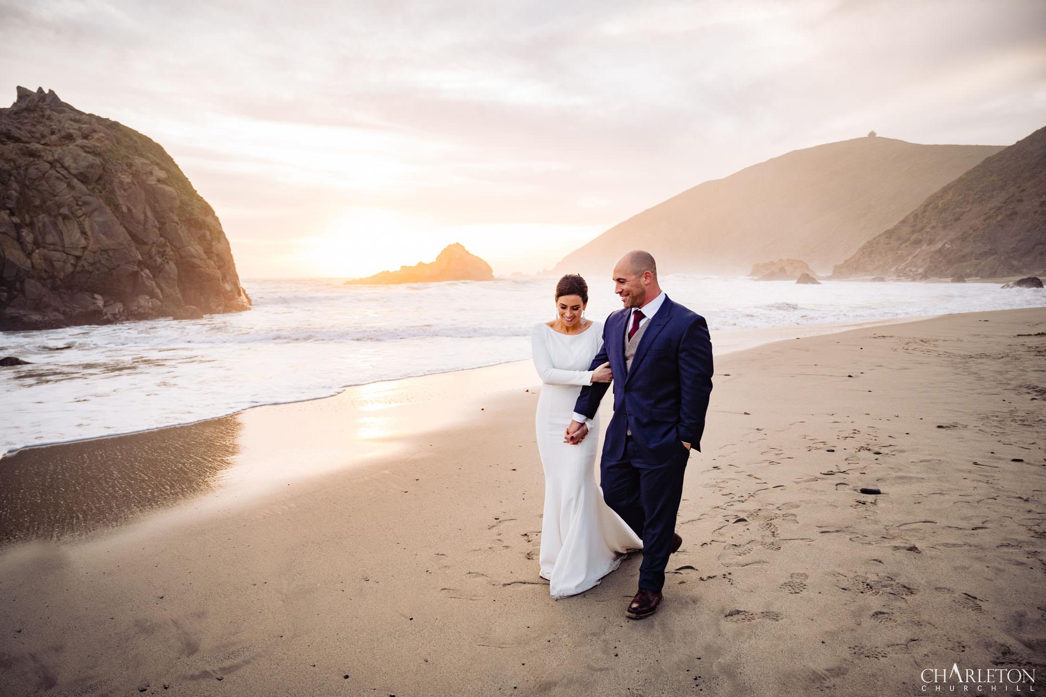 Sur Elopement Wedding Photography Pfieffer Beach