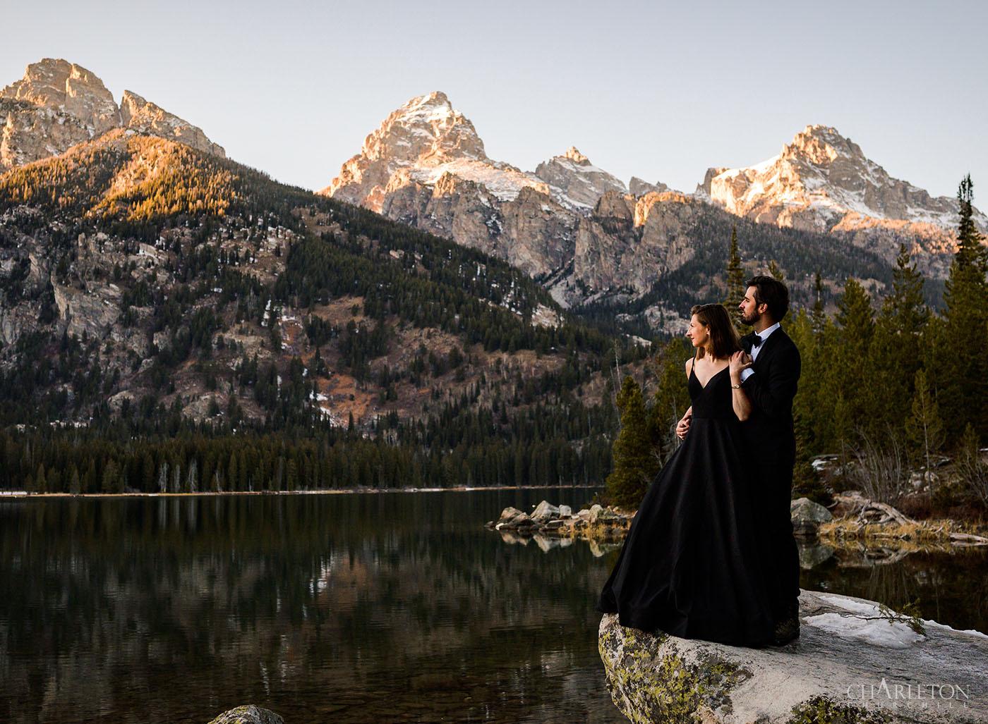 grant tetons park wedding photos