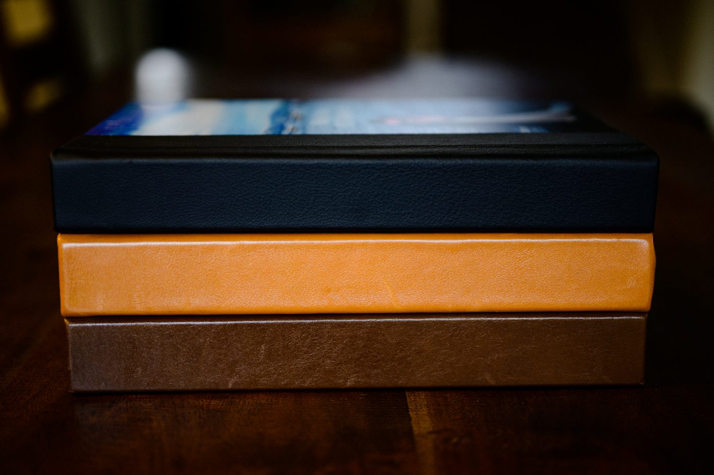 leather 8x12 wedding albums with black leather