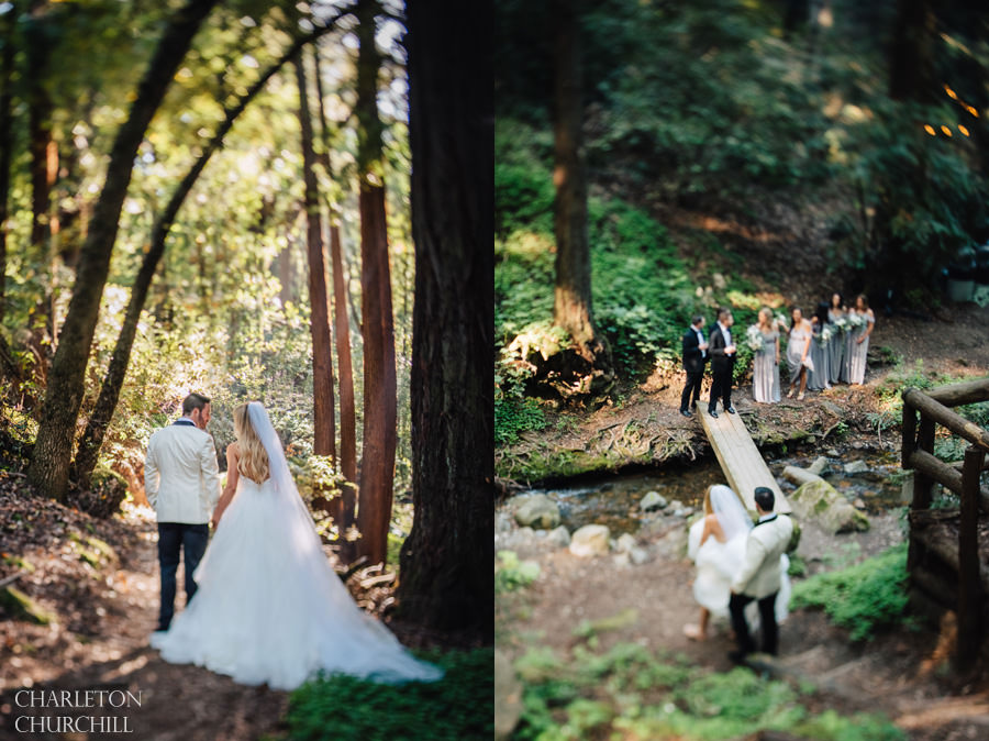 Saratoga Springs Wedding | Saratoga Springs Wedding In The Woods Nick And Annalesa Lake
