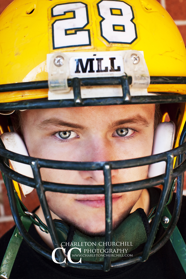 Football senior photos