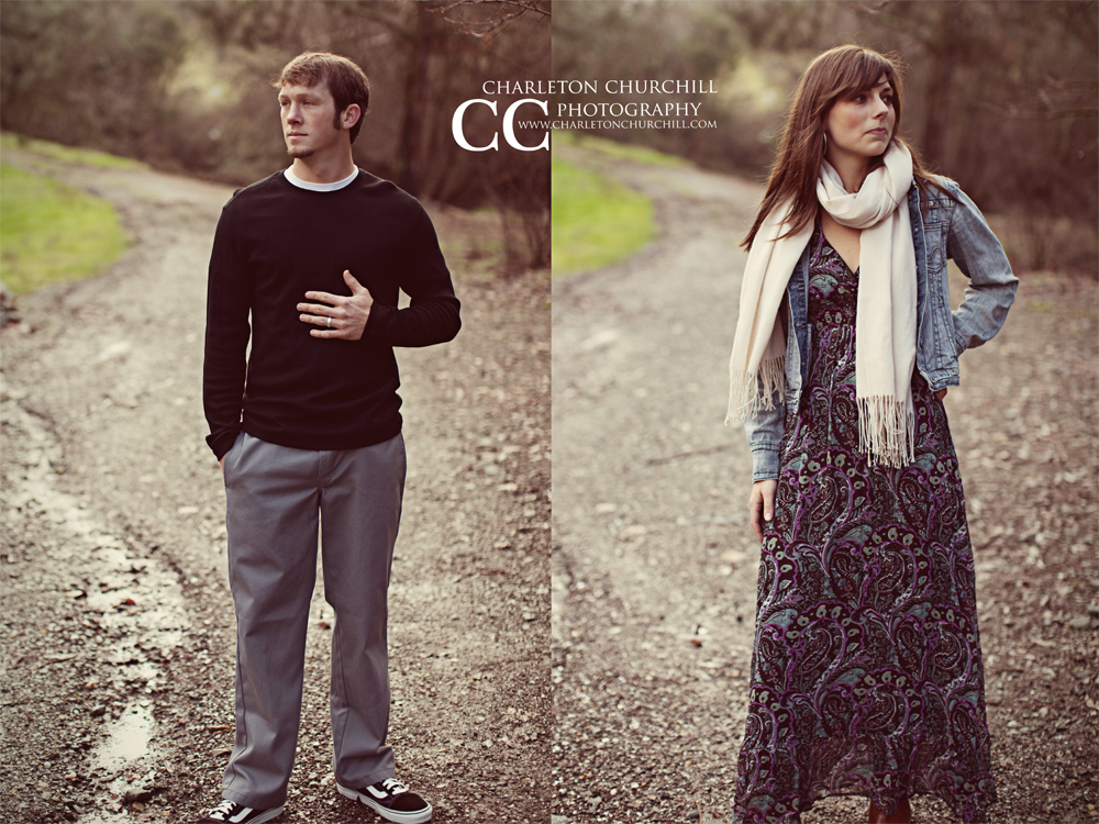 engagement session Amador city