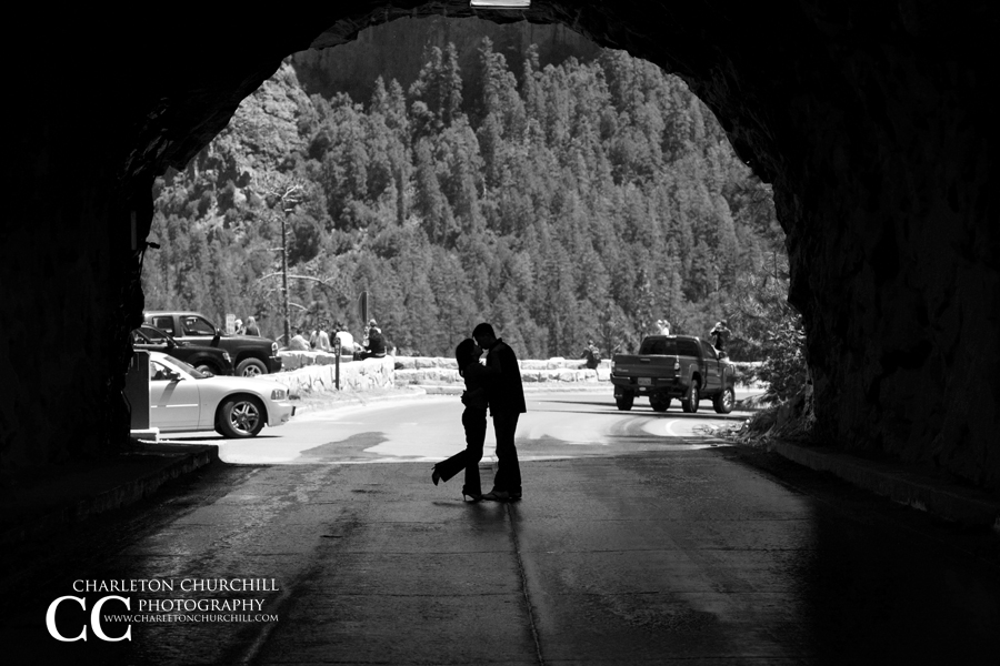 couple in yosemite cave