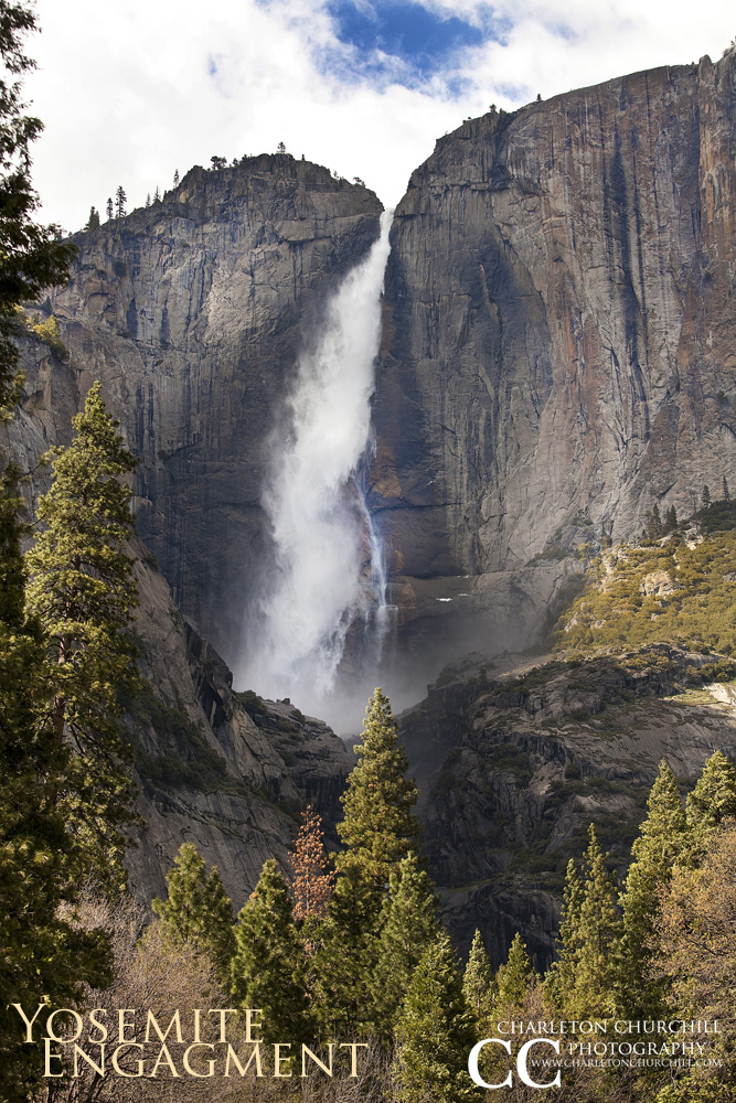 Yosemite photograph picture of all falls