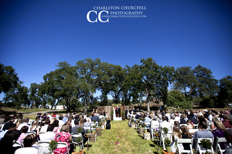 Amador County wedding at the italian picnic grounds
