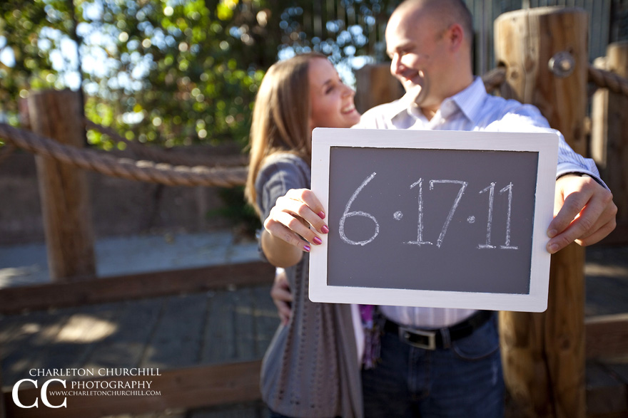 save the date cards sign