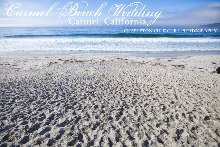 Carmel Beach wedding events