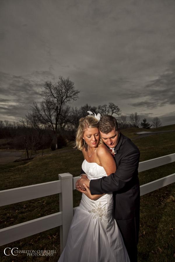 bride and groom in dramatic shot by sacramento wedding photographer, Charleton Churchill