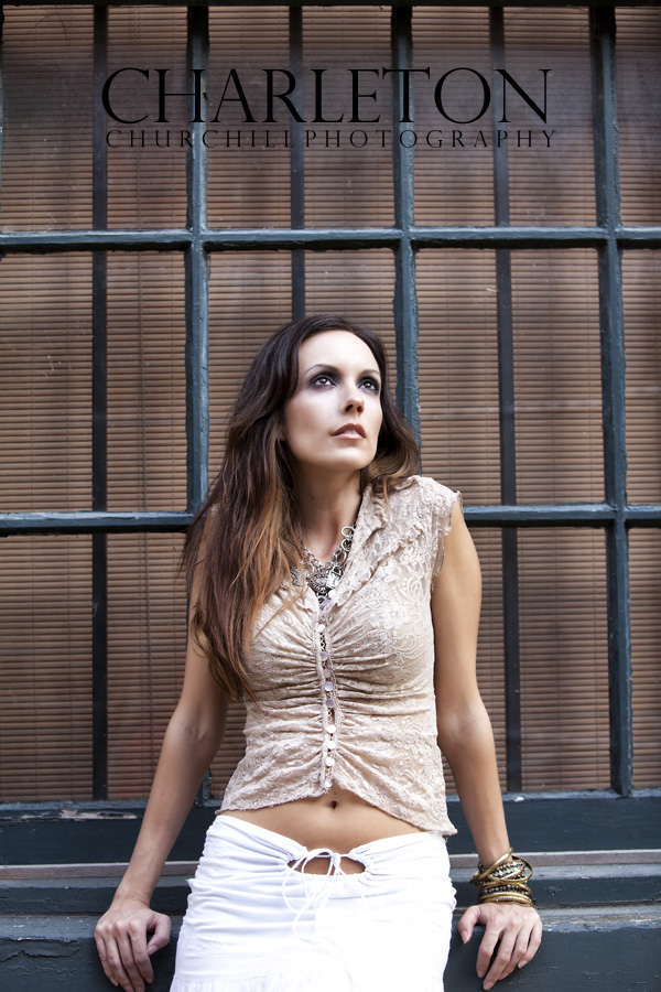 nashville model session with melissa Fergus as MUA