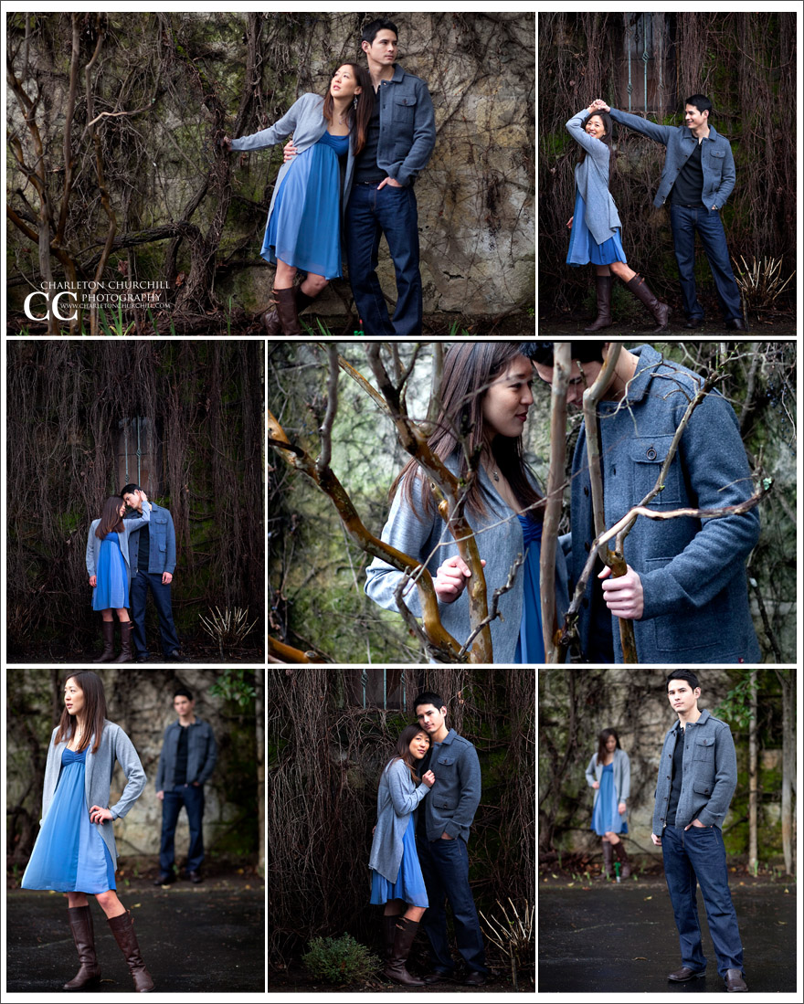 rich meaningful engagement pictures in Napa valley