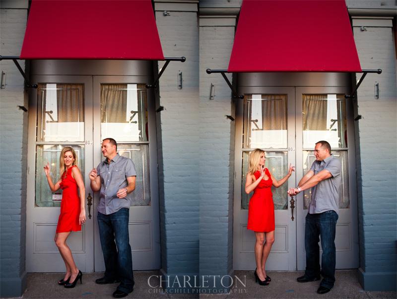 engaged couple Folsom street fair photographs