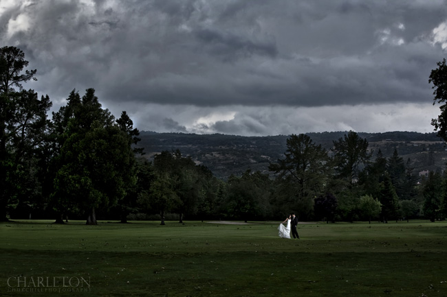 silverado resort and spa weddings bride and groom on golf course