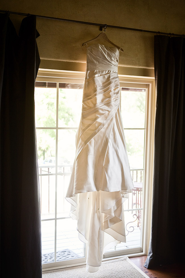 wedding dress in murphys wineries