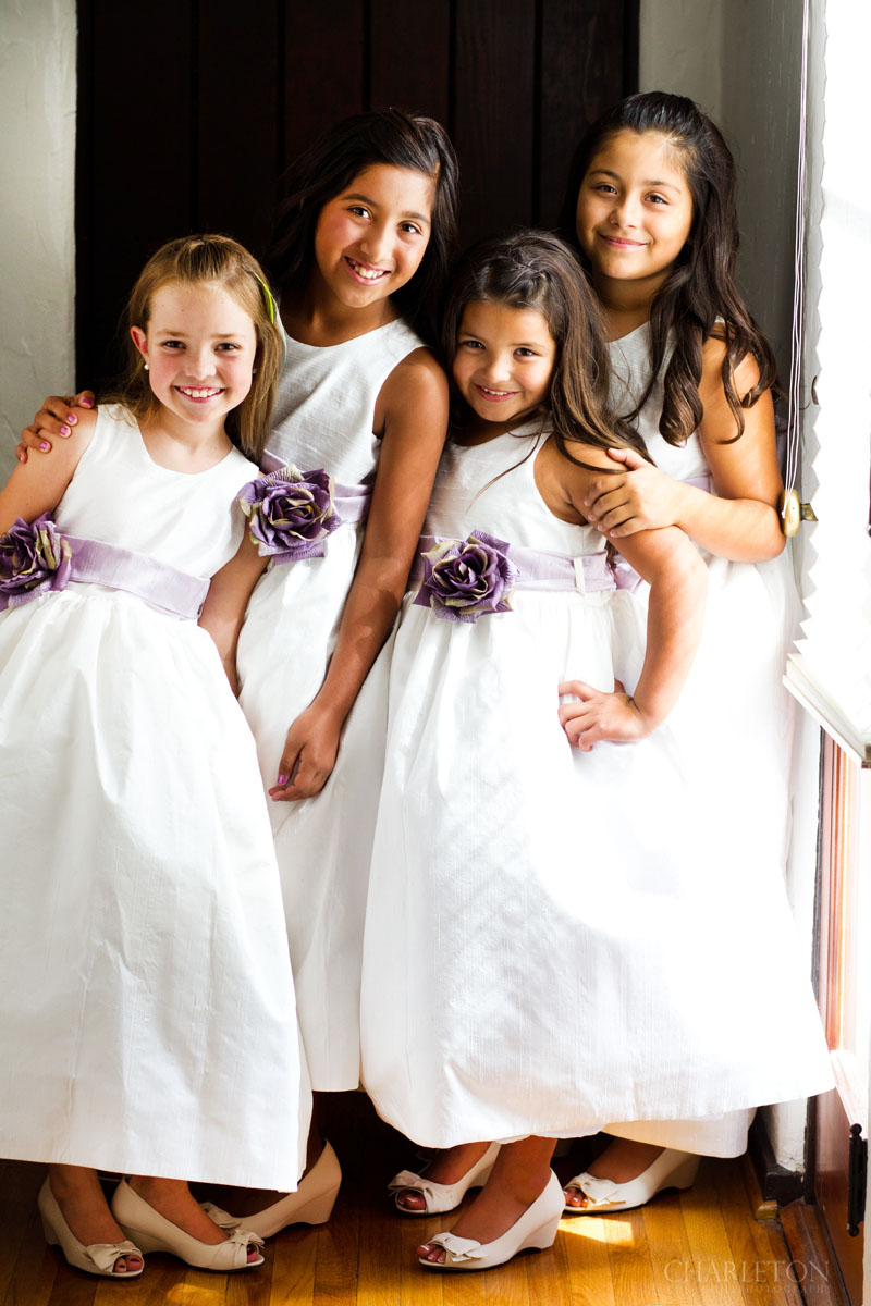 wedding flower girls diamond bar