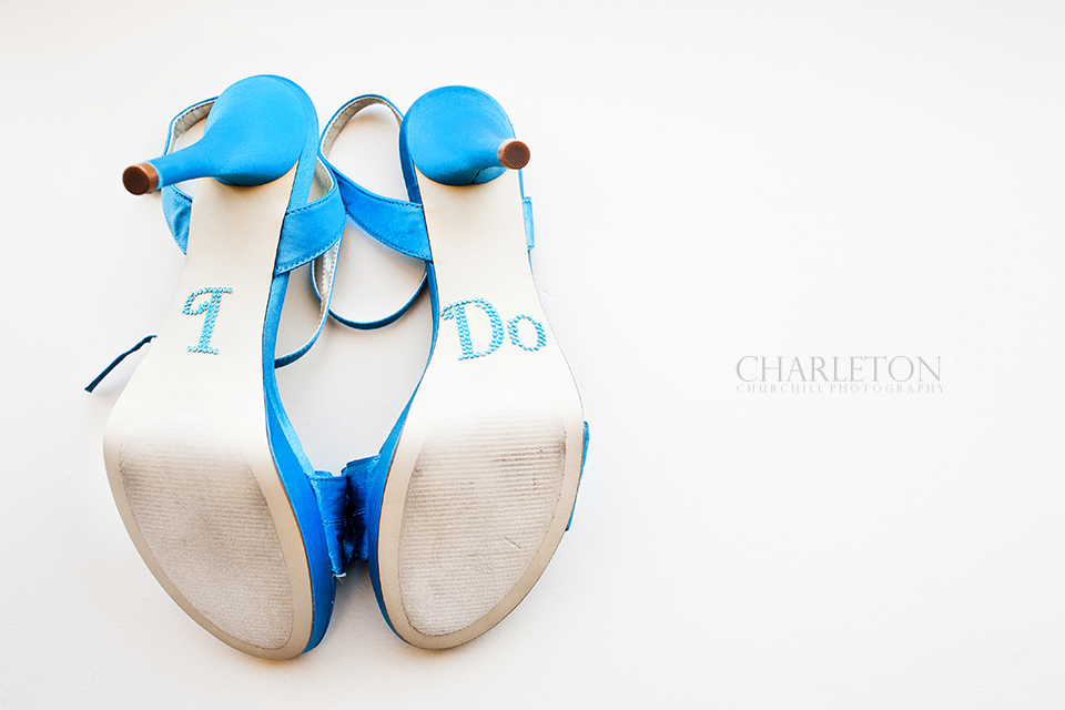 wedding shoes that say I do