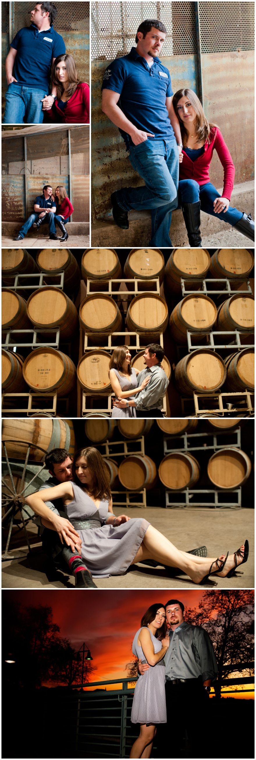 Wine cellar wedding at old sugar mill
