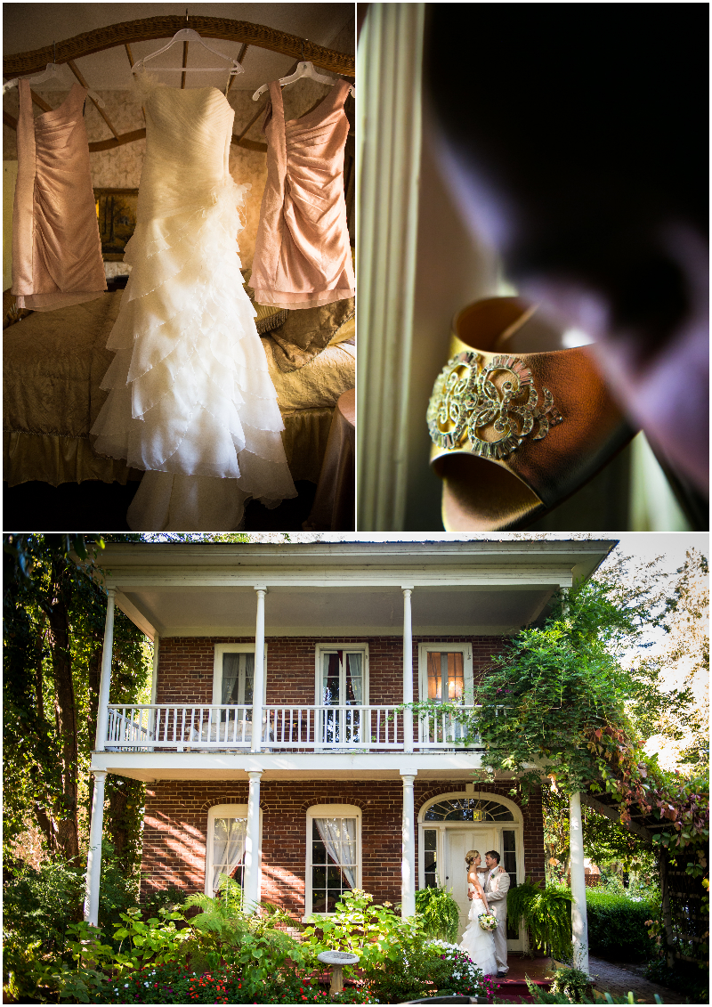 wedding details and event in Ione California amador county