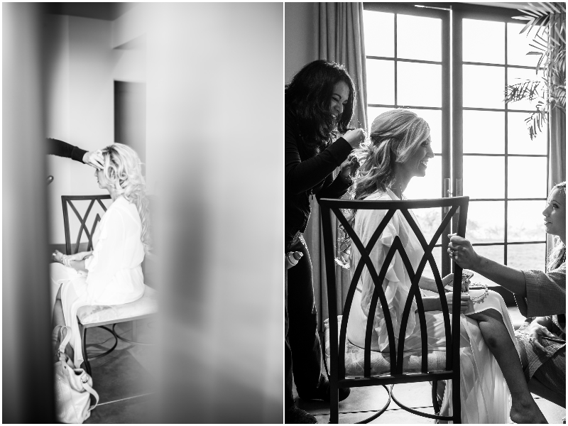 carmel beach wedding getting ready photography