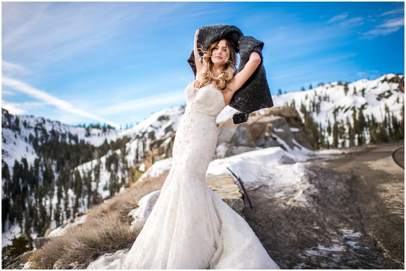 trash the dress lake tahoe wedding photography