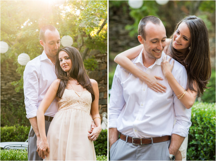 cute engagement photos of San Diego couple