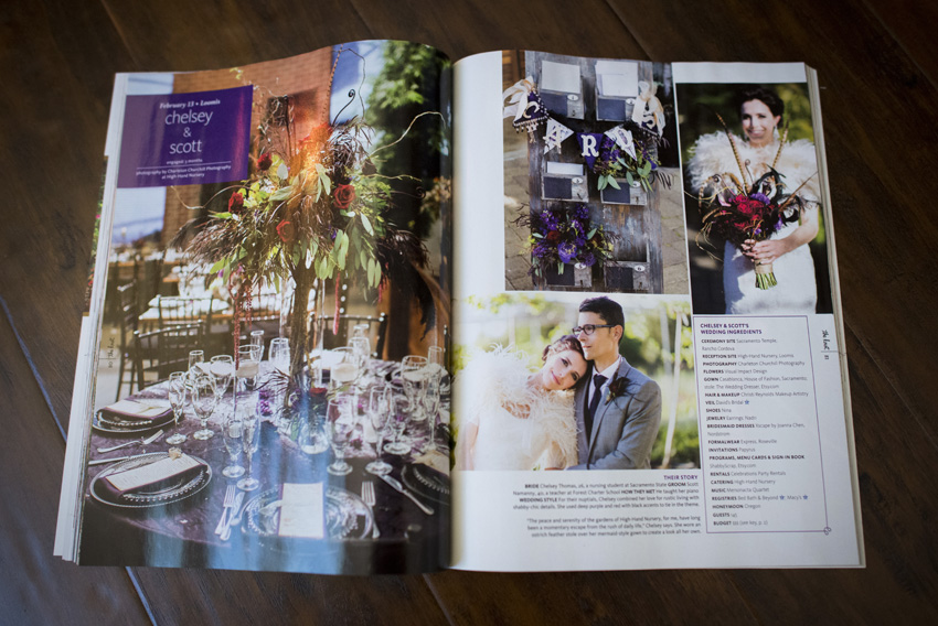 Charleton Churchill Photography featured real weddings of The Knot magazine northern California