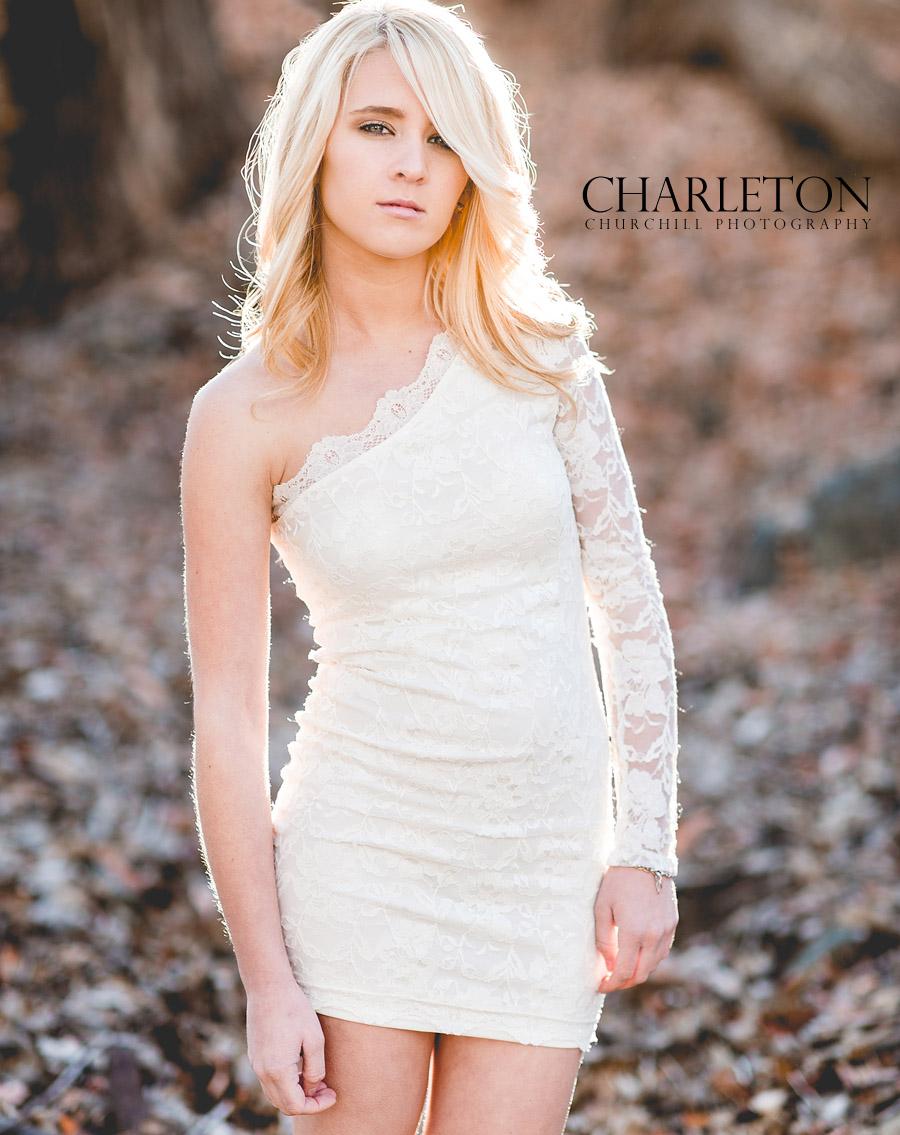 fashionable senior photography