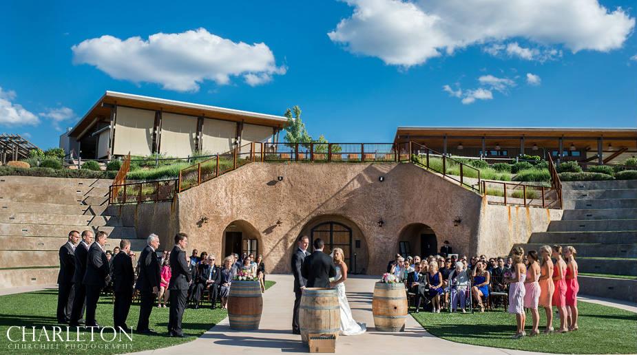 Helwig Winery Ceremony of wedding