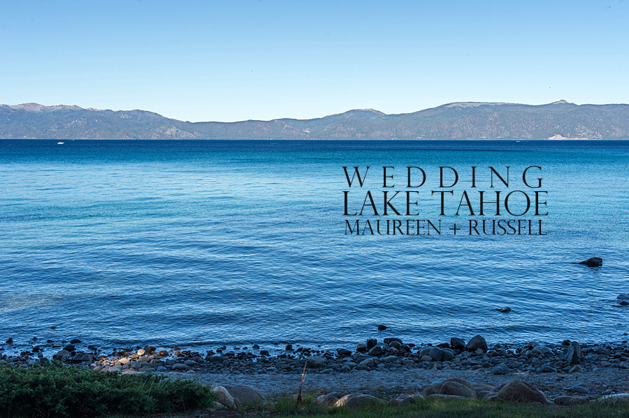 wedding at lake tahoe