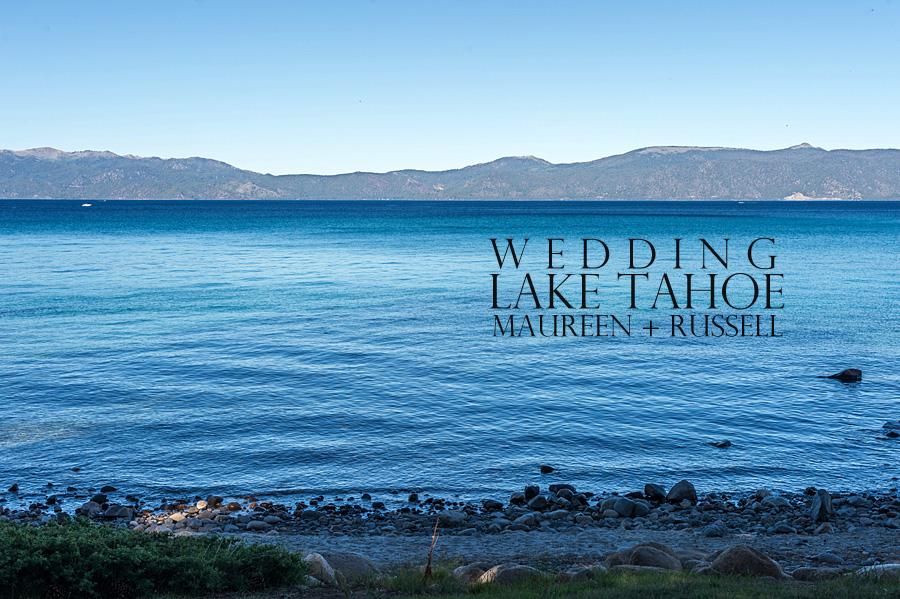 wedding at lake tahoe