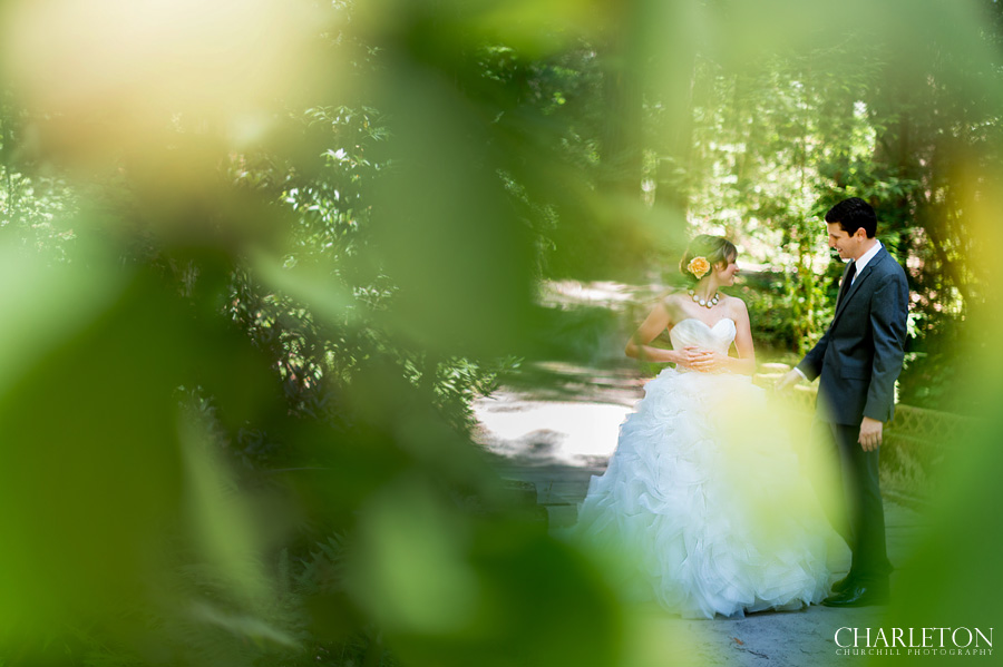 bride groom moment at santa rosa griffith woods