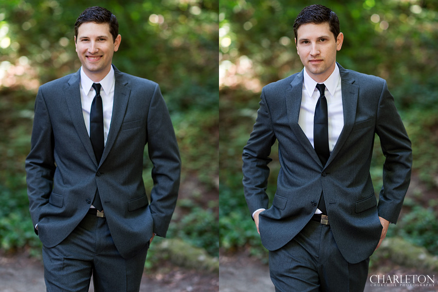 groom photos at griffith woods