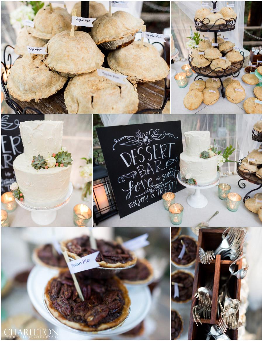 delicious desserts for reception