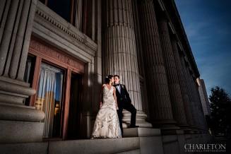 grand ballroom wedding photos outside