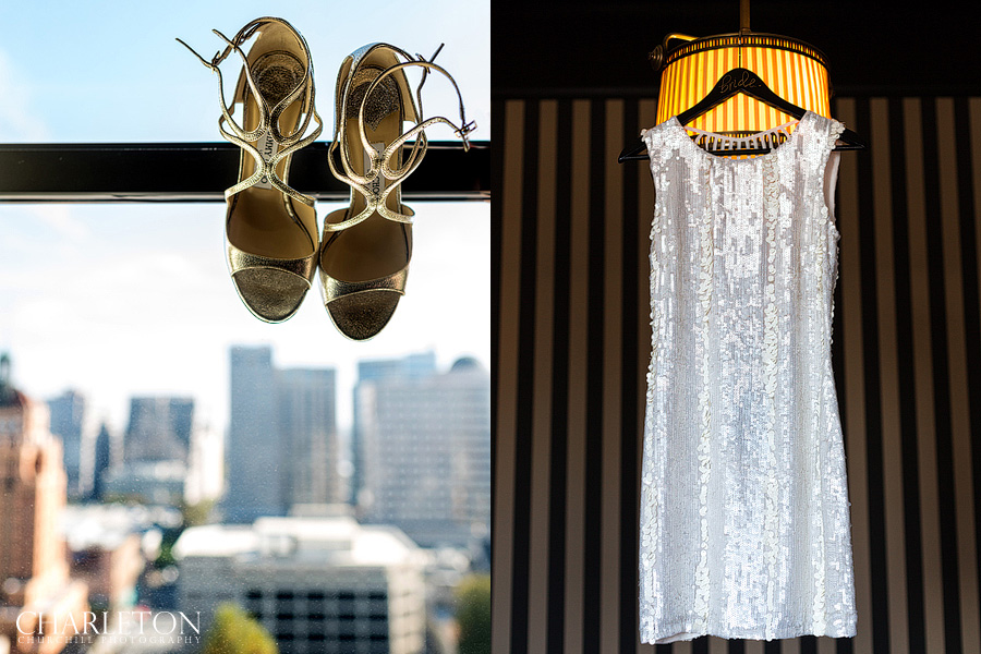 wedding details at citizen hotel
