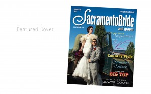 featured front cover wedding magazine by Charleton