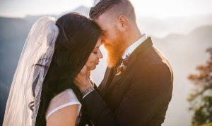 wedding adventure on glacier point by yosemite wedding photographer charleton churchill