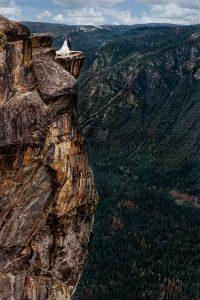 yosemite adventure cliff at taft point