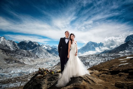 Mount Everest Adventure Wedding 2017 james sissom and Ashley Schmieder best photos ever