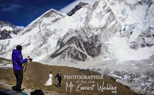 photographer behind the mt. everest wedding 2017 adventure
