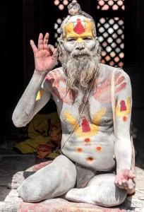 saddis man hinduism of kathmandu