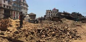 oldest building in kathmandu destroyed
