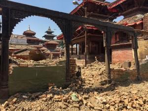 kathmandu rocked by earthquake