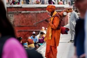 holy men in nepal called sadhus