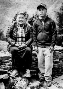 sherpa family who lost their home