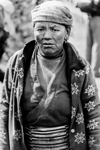 woman who lost her home